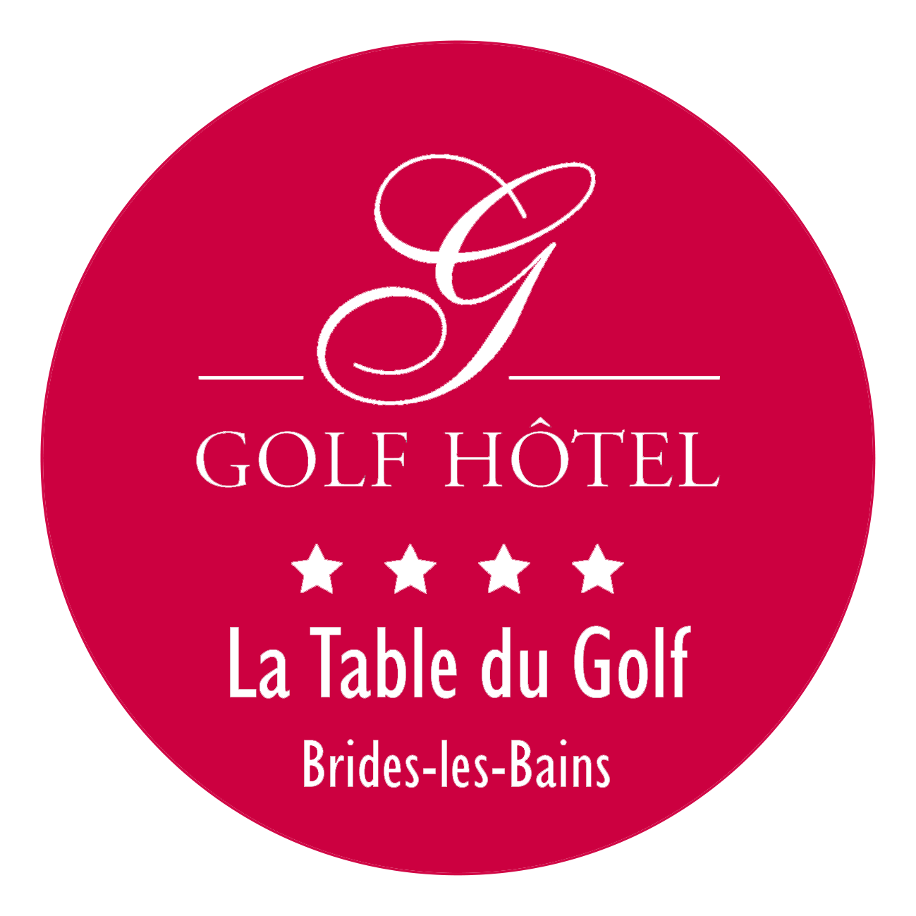 Logo-cercl-et-fond-rouge table-du-Golf